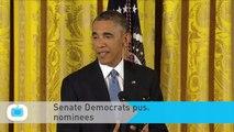 Senate Democrats Push Votes on Obama's Nominees