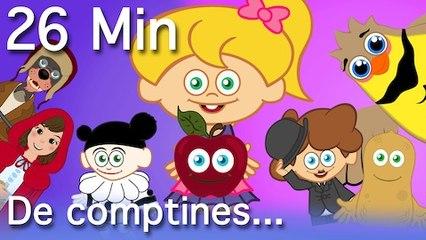 Pomme de Reinette et Pomme d'Api + 13 comptines et chansons - durée 26 Min.