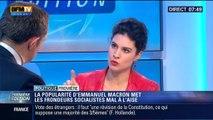 Politique Première: La popularité d'Emmanuel Macron met les frondeurs socialistes mal à l'aise - 16/12