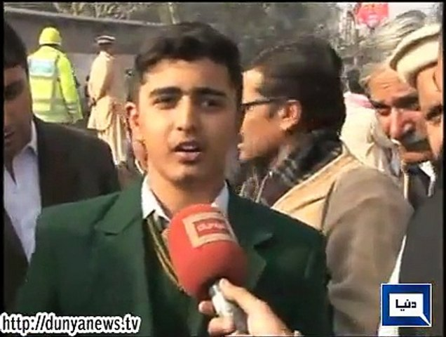 Dunya News - Peshawar attack exclusive: Statement of eyewitness