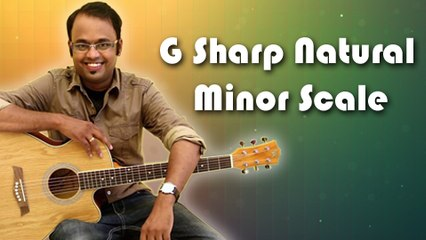 How To Play - G Sharp Natural Minor Scale - Guitar Lesson For Beginners