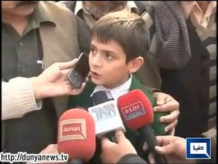 Peshawar attack exclusive - Statement of child rescued by military - Dunya News
