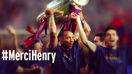 Los mejores goles de Henry con el Barça