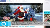 Emily Blunt and John Krasinski Prank Jimmy Kimmel Three Times in One Week