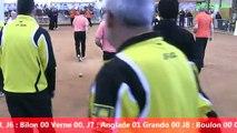 Premières parties de poule, Super 16, Sport Boules, Rumilly 2014