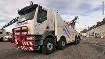 Dépannage Remorquage Relevage VL et utilitaires poids lourds, super poids lourds & bus à Scaer