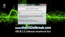 HowTo Jailbreak iOS 8.1.2 iPhone iPad iPod Final Releases Evasion7,iPod Touch ,iPad,Apple Tv