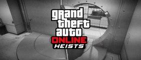 GTA V arrive en mode Multijoueurs, Co-op mode - Grand Theft Auto Online – Heists Bande-annonce 2015
