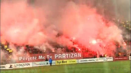 Tifozet Guerrils ne derbin Partizani – Tirana