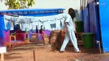 Création du centre de traitement Ebola de FORECARIAH