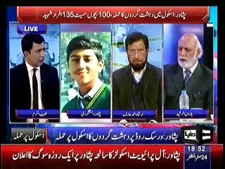 Haroon Rasheed Great Analysis That Who Is Responsible For This Peshawar Attack