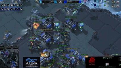 Lambo (Z) vs. Dayshi (T) - MyStarCraft Arena #2 powered by Dailymotion StarCraft II Heart of the Swarm