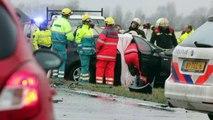 Video: Dodelijk ongeval N360 bij Ten Boer - RTV Noord