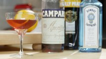 Classic Negroni Cocktail Recipe - LeGourmetTV