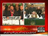 PTI Chairman Imran Khan Speech  in Azadi March & Announces to End Protest - 17th December 2014