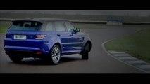 Le Range Rover Sport SVR se dégourdit les jambes sur circuit