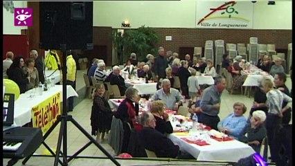 Téléthon 2014 : repas-musette à Longuenesse (62)