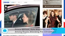 Prince William, Kate Middleton and Prince Harry Among Royals Attending Pre-Christmas Lunch at Buckingham Palace