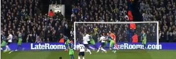 Nabil Bentaleb Goal - Tottenham vs Newcastle 1-0 (Capital One Cup) 2014_