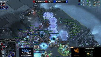 MyStarCraft Arena by Mori (REPLAY)