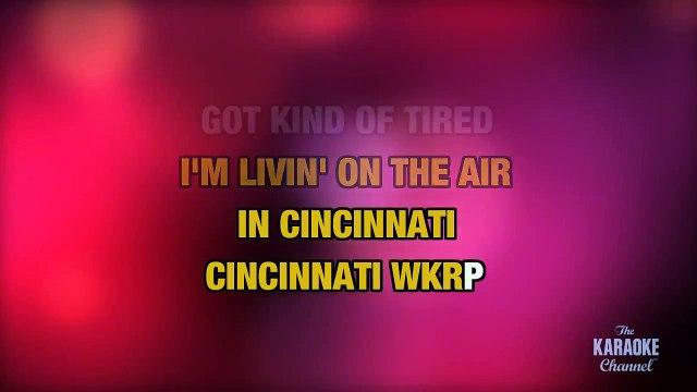 WKRP In Cincinnati in the Style of 'Ash King, Shilpa Rao, Shekhar Ravjani' (no lead vocal).
