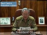 Raul Castro confirme le rétablissement des relations diplomatiques avec les Etats-Unis