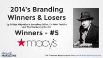 The Marketing Doctor's Brand Winners and Losers 2014 - Winner 5 - Macys
