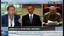 Brunet & Neumann : Accord entre les États-Unis et Cuba: Barack Obama est-il entré dans l'histoire? - 18/12