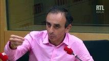 Éric Zemmour s'exprime face à la polémique