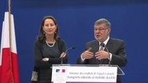 Ségolène Royal et Alain Vidalies annoncent les résultats de l'appel à projets « transports collectifs et mobilité durable »