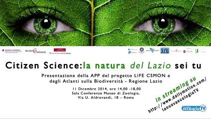 CITIZEN Science la natura (del Lazio) sei tu - parte 2