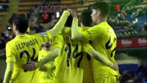 Villarreal CF (3-0) Cádiz CF all goals full highlights Copa del Rey 17-12-2014
