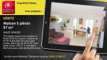 A vendre - maison - MAZE (49630) - 5 pièces - 97m²