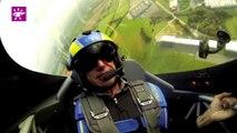 Téléthon 2014 : Voltige aérienne pour le Téléthon à Cahors (46)