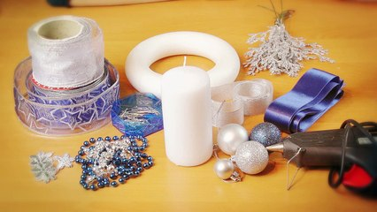 How to make Christmas Bauble by Creative Mom
