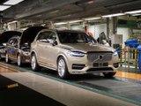 Au cœur de la production du Volvo XC90 à Torslanda