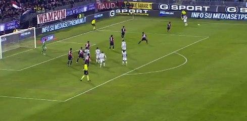 Carlos Tevez Goal Cagliari 0 - 1 Juventus 2014 HD