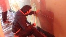 Une fresque au lycée Léonard de Vinci
