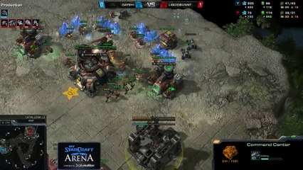 Bunny (T) vs. Dayshi (T) - MyStarCraft Arena #2 powered by Dailymotion StarCraft II Heart of the Swarm