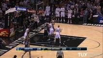 Fin de match spectaculaire entre San Antonio et Memphis #NBA