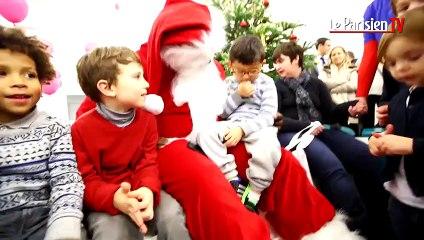 Teddy Riner enfile les habits du Père Noël pour la bonne cause