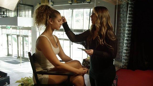 Jennifer Faustino Makeup Tutorial - Lauren Wood - 4K
