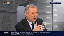 François Bayrou, invité de Bourdin Direct sur BFMTV - 181214