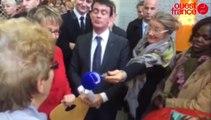 Rennes : Manuel Valls avec les habitants du Blosne