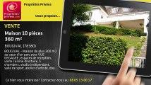 A vendre - maison - BOUGIVAL (78380) - 10 pièces - 360m²