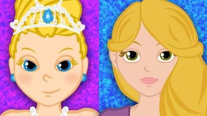 Raiponce + Cendrillon -  2 contes de fées pour le monde des petits -  19 Min.