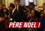 François Hollande serait-il le Père Noël ? - ZAPPING ACTU DU 19/12/2014