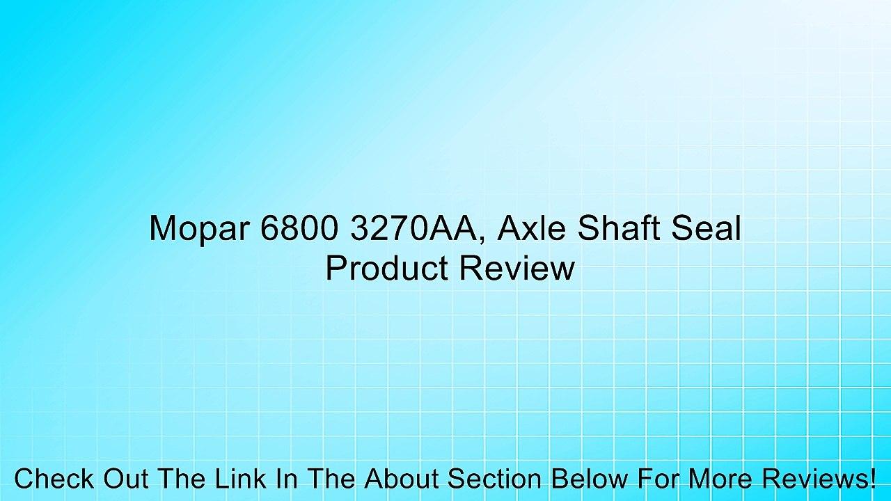 Mopar 5211 1338AC Axle Shaft Seal