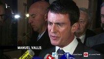Visite surprise de Manuel Valls à l'abattoir Gad de Josselin