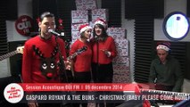 Gaspard Royant & The Buns - Christmas (Baby Please Come Home) - Session Acoustique OÜI FM